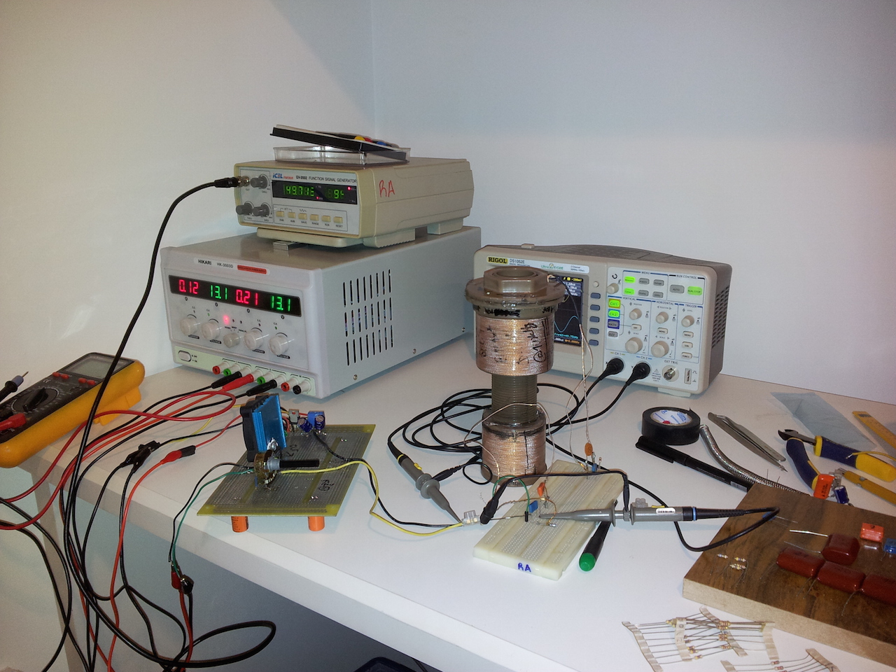 My polar or radial router