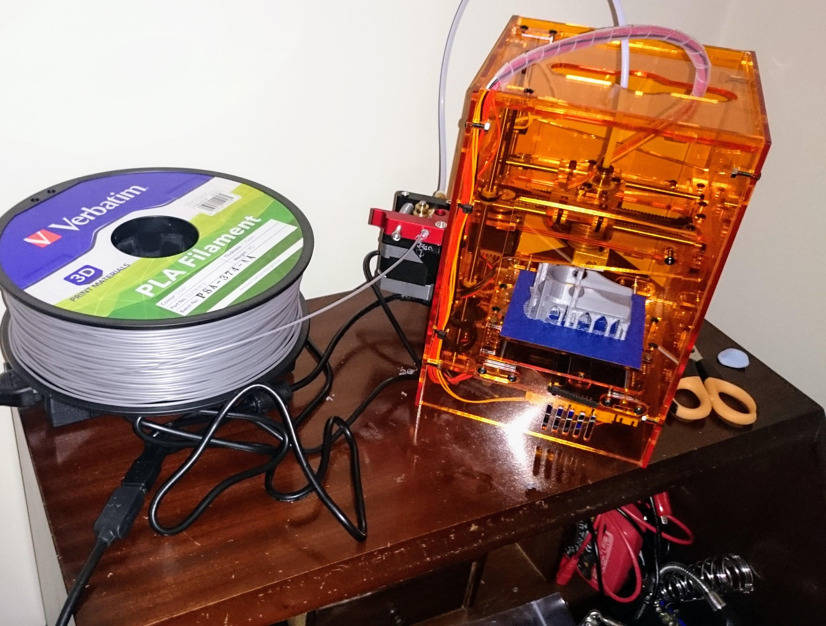My first 3D printer